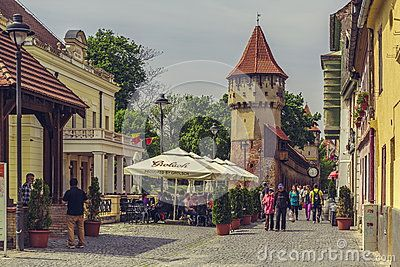 The Carpenters' Tower In Sibiu City, Romania - Download From Over 32 Million High Quality Stock Photos, Images, Vectors. Sign up for FREE today. Image: 54031159