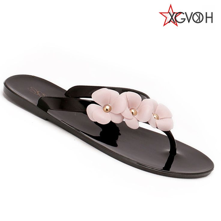 Summer Style Splendid Women Sandal Beach Shoes Flower Flat Heels Flip Flops Women's Shoes Tstraps Sandals - CattleyaStore CattleyaStore