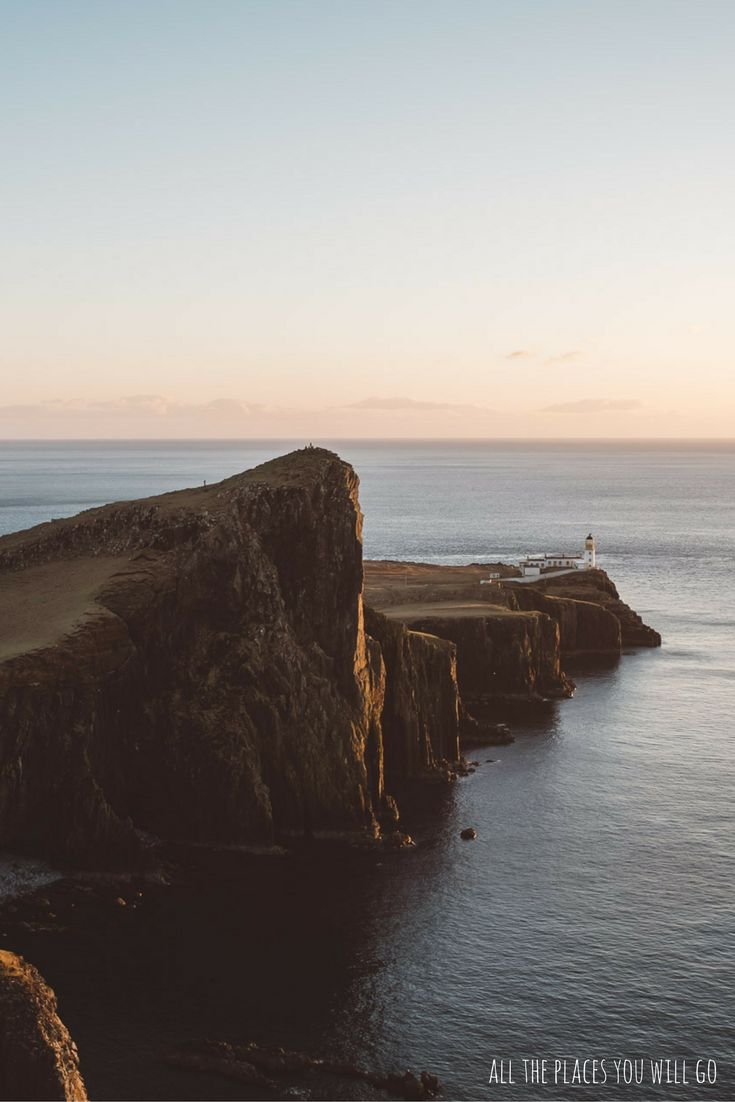 Neist Point in Scotland - Read more about our trip from Glencoe to Isle of Skye!  Travel & Photography | All the places you will go