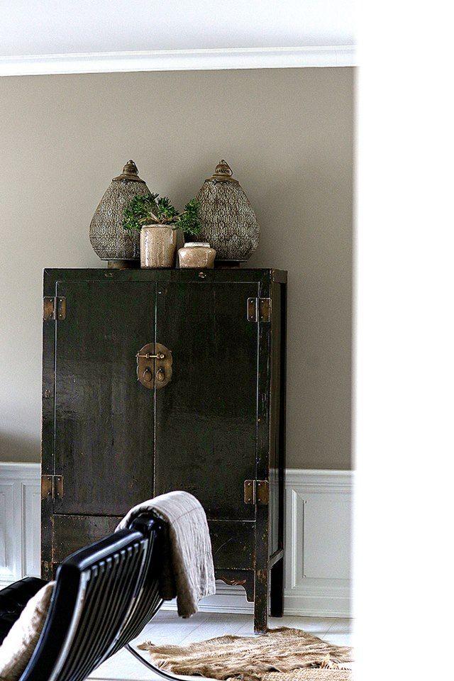Potteskjuler - køb urtepotter og plantekrukker fra Cozy Room online hos House of Bæk & Kvist. #cozyroom #pottery #mushroom #brun #antiquelook #houseofbk