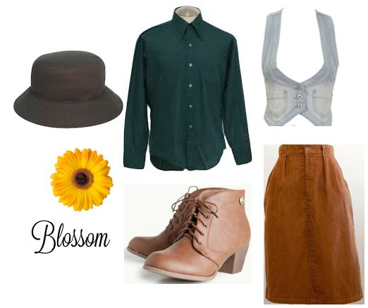 A very #DIY Halloween: Costume ideas for Blossom —the '90s, hat-loving tween