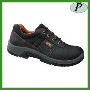 Zapatos de seguridad negros Jack en Planas, calzado de piel negra con  puntera y plantilla