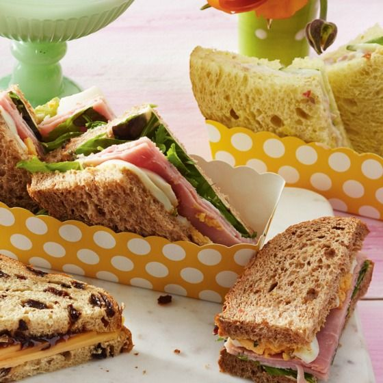 Een lekkere combinatie van oerbrood pompoen en beenham. #high tea #sandwich #jumbosupermarkten