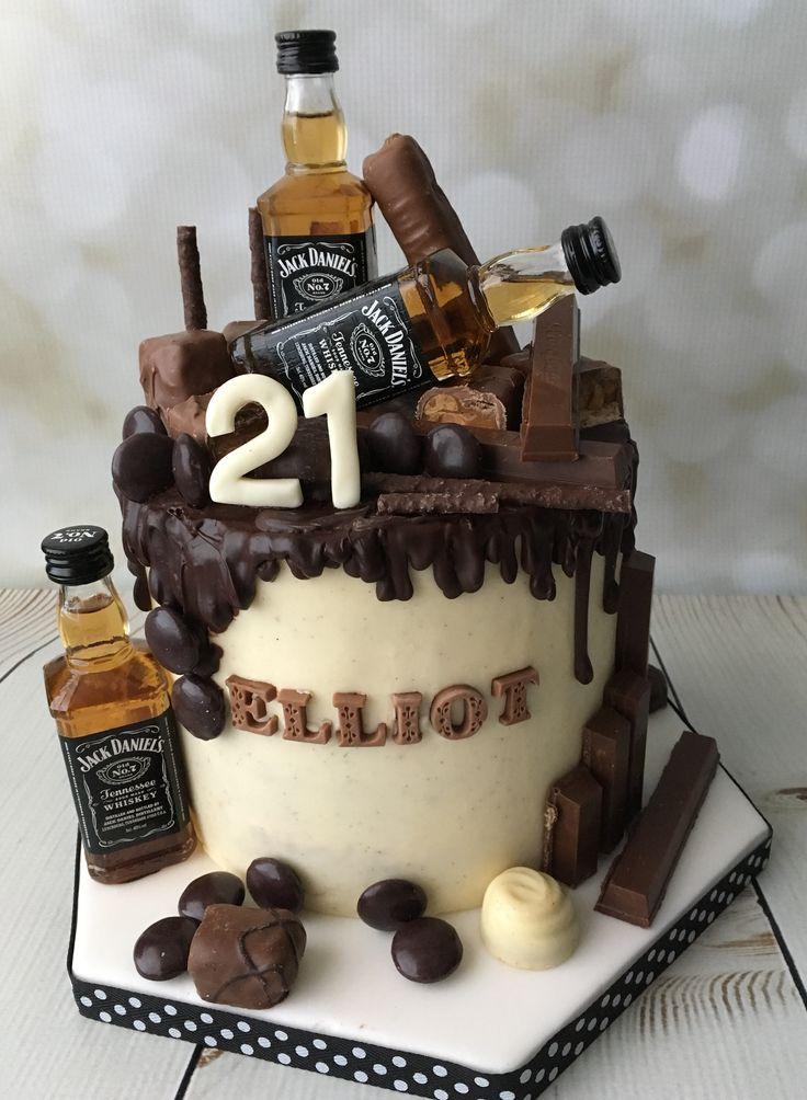 Jack Daniels Drip Cake Jackdanielscake Jd21stcake