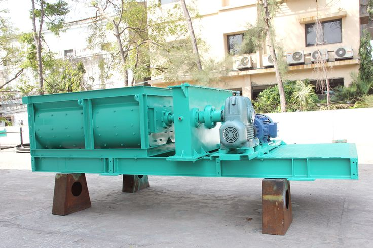 Continuous Twin Shaft Mixers BY Solid India Ltd :  Continuous Twin Shaft Mixers is one of the most efficient and economic mixer when dust conditioning or sludge insertion is focused.c