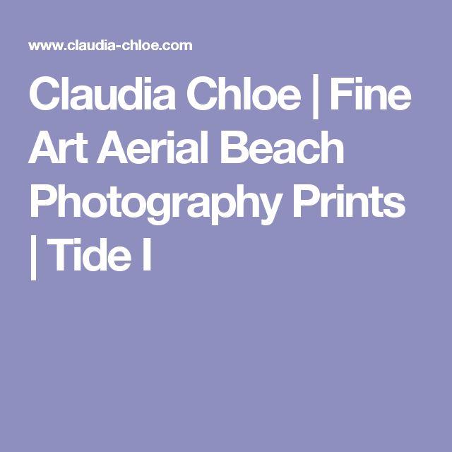 Claudia Chloe | Fine Art Aerial Beach Photography Prints | Tide I