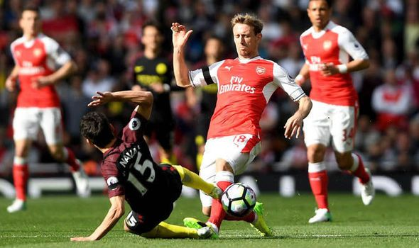 Spotted: Should Jesus Navas have been sent off for this awful challenge on Nacho Monreal?   via Arsenal FC - Latest news gossip and videos http://ift.tt/2n1CBTj  Arsenal FC - Latest news gossip and videos IFTTT