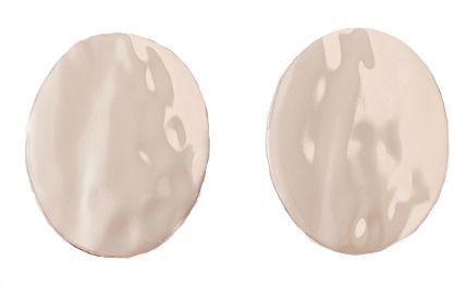 Boucles d'oreilles circulaires dorées, Zara