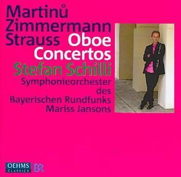 Symphonieorchester Des Bayerischen Rundfunks - Oboe Concertos