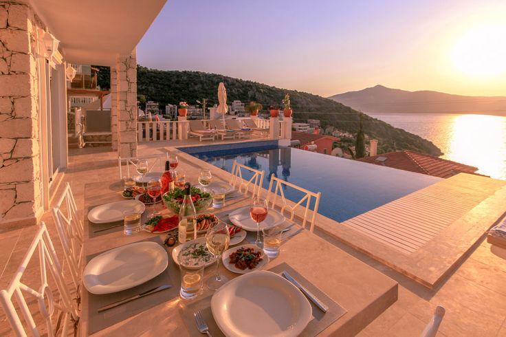Ketchy villa.Vacation rental villa with stunning views and infinity pool at #kalkan #Antalya #Turkey