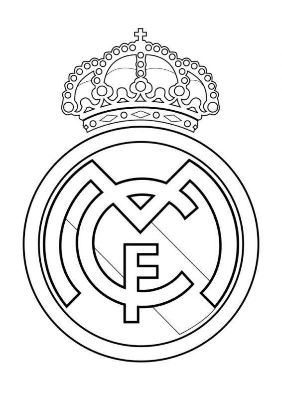 Escudos Del Real Madrid Para Colorear Com Imagens Papeis De