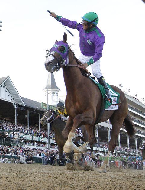 California Chrome wins 140th Kentucky Derby | Jockey Victor Espinoza | May 3, 2014
