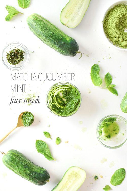 #Verde que te quiero verde. Ya sea para #comer, para #beber o para ponértelo sobre la #piel. #Mascarilla #facial casera. #Alimenta tu piel de la mejor manera, #hazlotumismo #DIY. #Eresloquecomes, eres lo que te pones || #greenbeauty #cosmeticanatural #naturalcosmetics #handmade #hechoamano #comsetica #natural #artesanal #pielsana #skinlove #food #matcha #cucumber #receta