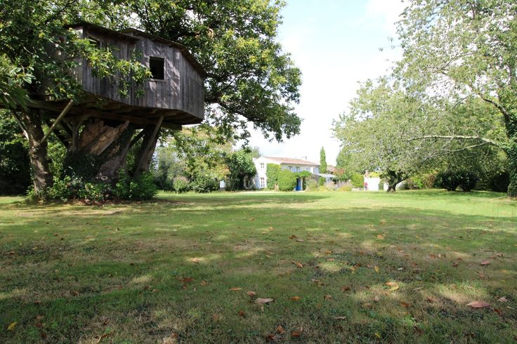 #EscapetotheCountry in Fabulous France!  Charming family home or retirement property for all the family to visit?    Newly renovated includes a heated pool and a treehouse.  Click for details:
