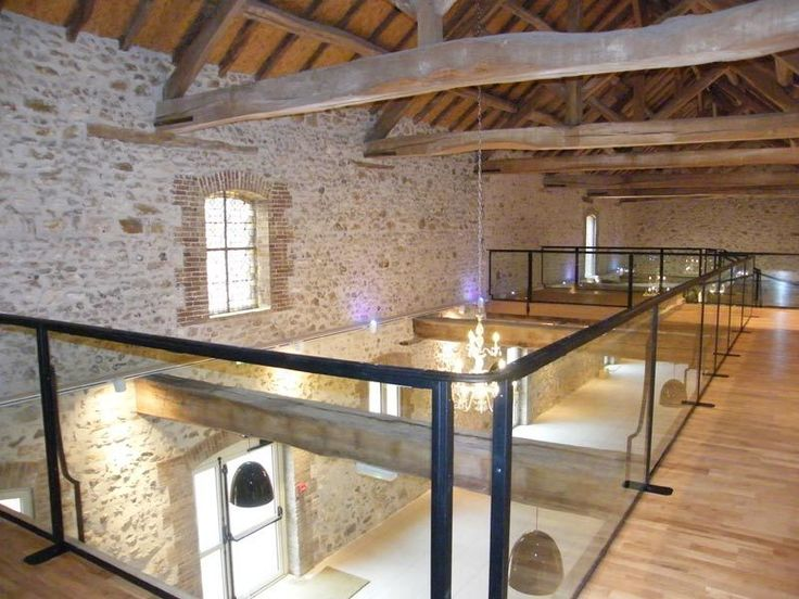 grange des molli res mezzanine 2 lieux champ tres mariage ile de france pinterest. Black Bedroom Furniture Sets. Home Design Ideas