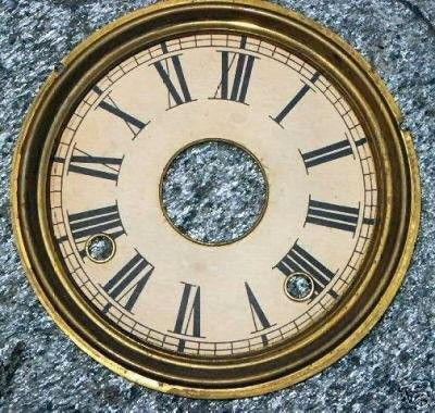 Ingraham Clock Gingerbread Dial ONLY | #32176610