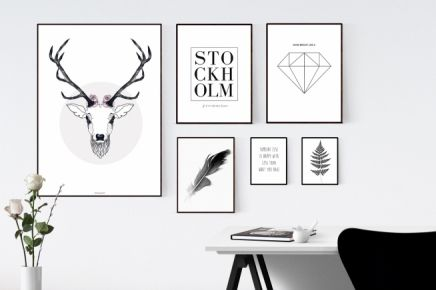 Posters and art prints for home and office interior. From desenio.se.