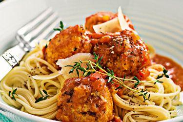 Lemon and herb chicken meatballs