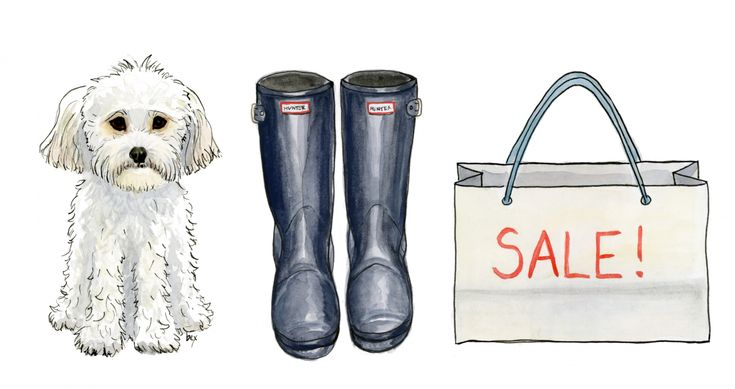 New blog post about illustrations done for @Rainboots and Retail!