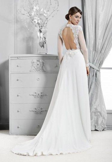 14108 - Crystal Collection - Kolekcja sukni ślubnych Agnes - koronkowe suknie ślubne