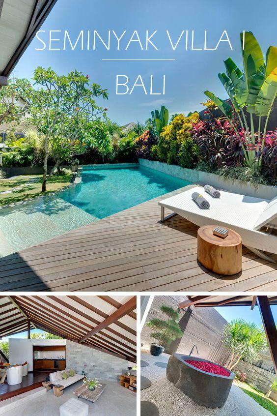 SEMINYAK VILLA I | BALI - Luxus-Ferienvilla mit 1 Schlafzimmer, Teil eines privaten Villen-Anwesens