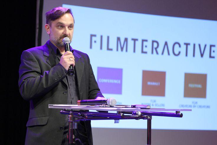 Krzysztof Brzezowski - Lodz Film School Rector's plenipotentiary opening Filmteractive 2014