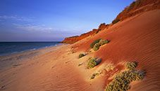 Dunas de arena roja, Australia Occidental (Australia)