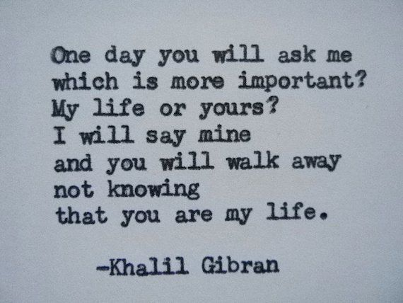 KHALIL GIBRAN Love Poem Love Quote Khalil Gibran by PoetryBoutique