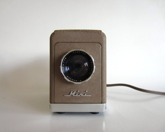 minolta mini chiyoko 35mm slide projector.