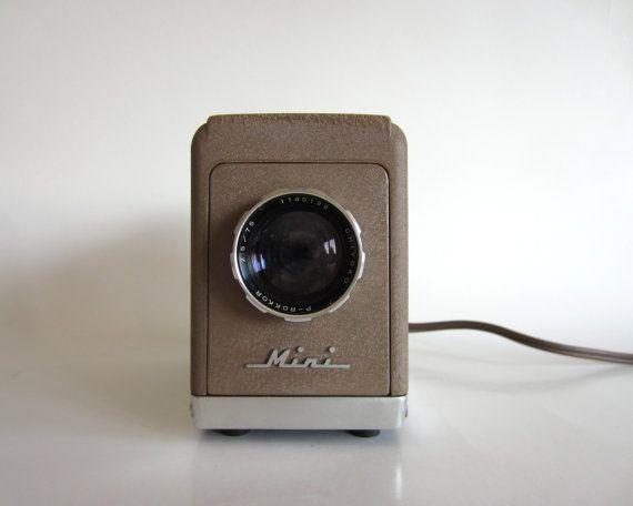 minolta mini chiyoko 35mm slide projector.