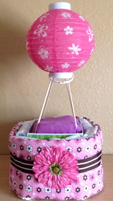 hot air balloon diaper cake original fox 4 viewer pins pinterest diaper cakes hot air. Black Bedroom Furniture Sets. Home Design Ideas