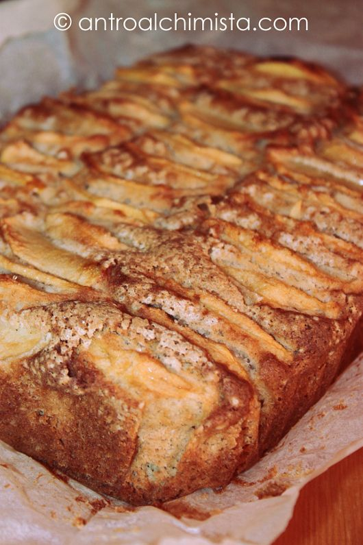 L'Antro dell'Alchimista: Torta di Mele e Cannella con Farina di Riso e Miele di Castagno - Apple Cake with Rice Flour; Cinnamon and Chestnut Honey