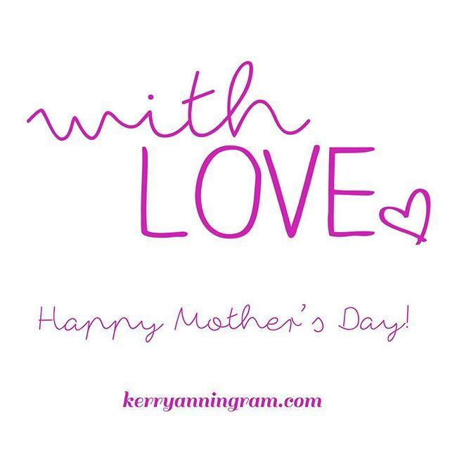 #happymothersday I salute you.