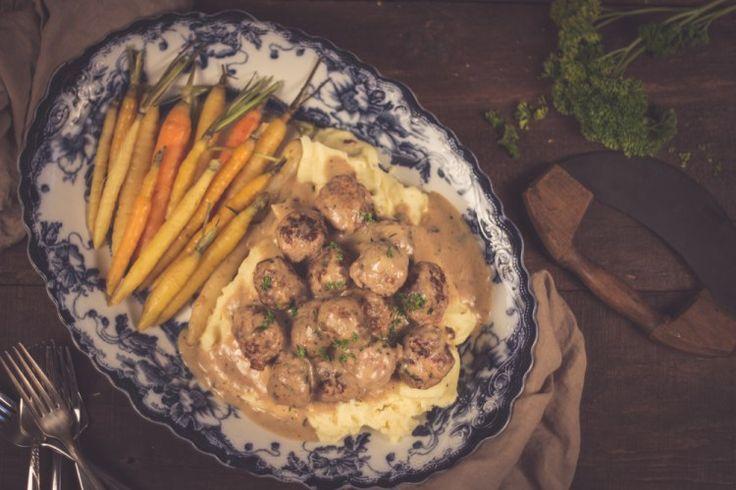 Boulette suédoises Un délice pour le temps des fêtes! http://monplana.ca/boulette-suedoises/