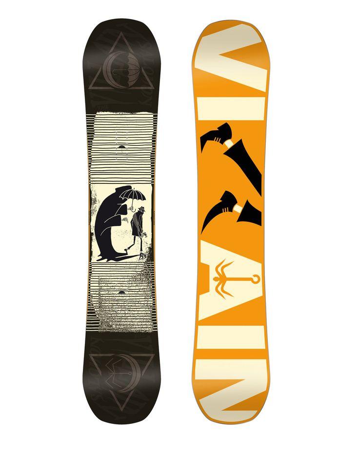 The Villain 2016 Salomon Snowboard : Snowboards homme : Snowleader