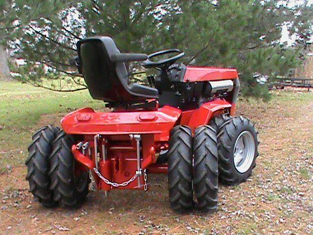 Home Built Articulating Garden Tractor : Best images about garden tractors on pinterest