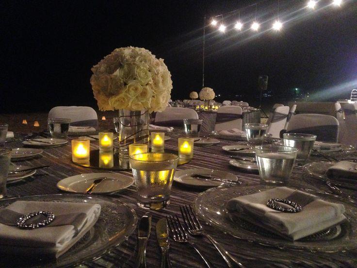 Welcome Dinner (Ronald & Vierra) @ The Royal Santrian Beach. Luxury Villa , Tanjung Benoa Bali , Indonesia #SantrianLife #theroyalsantrian #welcomedinner #dinner #specialdinner #beachdinner #weddngdinner