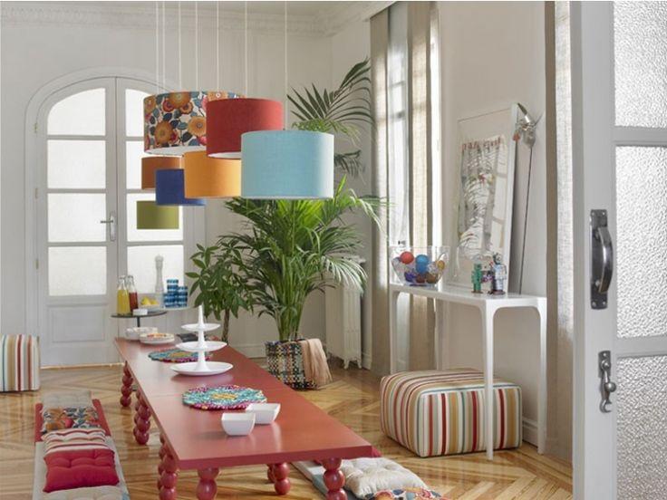 telas frescas alegres y llenas de color las telas ka permiten decorar ambientes