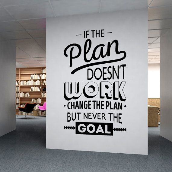 Corporate Office supplies Office Wall art by homeartstickers …