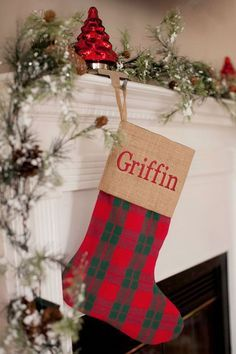 """- 18"""" L x 7.5"""" W - Foot Width- 12.25"""" - Burlap with 100% 8 oz. Cotton Trim - Burlap May Contain Nautral Variations in Fabric Note: There will be no returns on Monogrammed items. After adding item to c"""