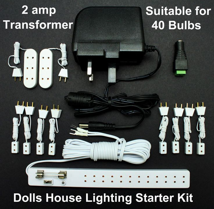 Wiring Starter Kit With Power Supply