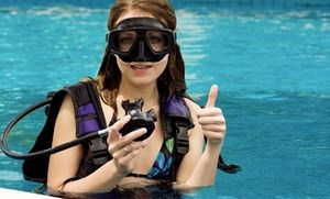 Seasoned instructors acquaint students with scuba basics or help them reach full certification in heated pools and local waterways.
