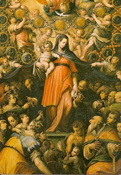 Madonna del rosario (Giorgio Vasari)