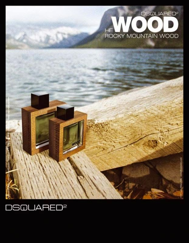 He Wood Rocky Mountain Wood by DSQUARED² Men Edt 2009