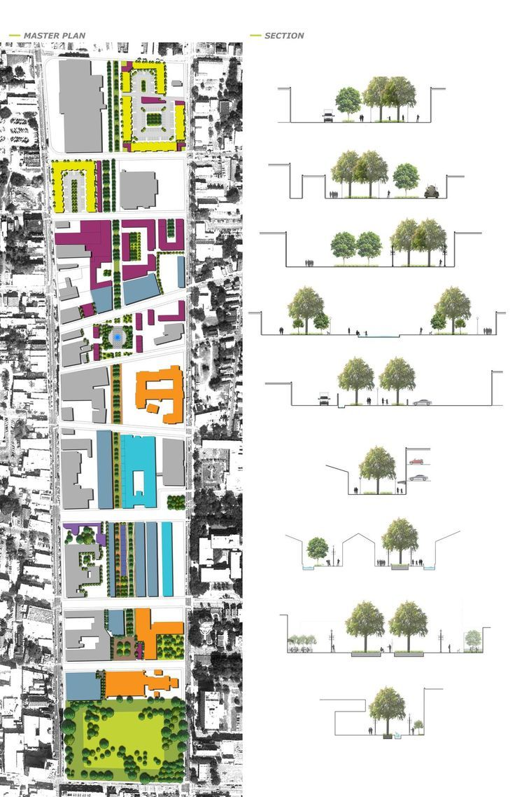 Master Plan & Section                                                                                                                                                     More