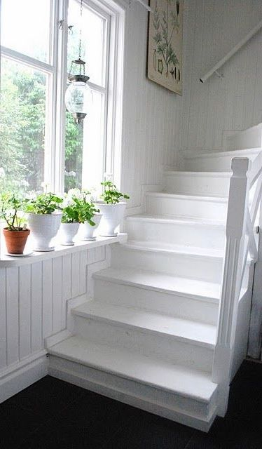 89 best decorating stairs images on pinterest home ideas cottage stairs greentooth Image collections