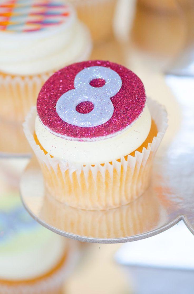 Shiny Disco Cupcakes!