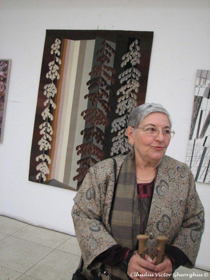 Portret de artist: Cela Neamţu si tapiseria triumfală