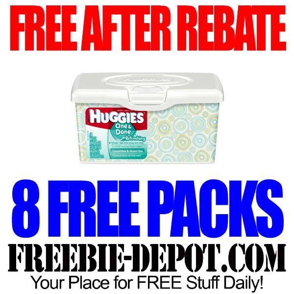 FREE AFTER REBATE – 8 Packs of Huggies Wipes with Snap App at Walmart or Target - LIMITED QUANTITIES