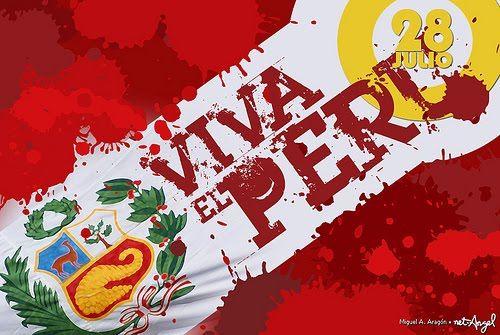"I. E. P ""CRAMER"" - INICIAL // PRIMARIA// SECUNDARIA: ¡FELICES FIESTAS PATRIAS PERÚ! ¡FELIZ 28 DE JULIO!"